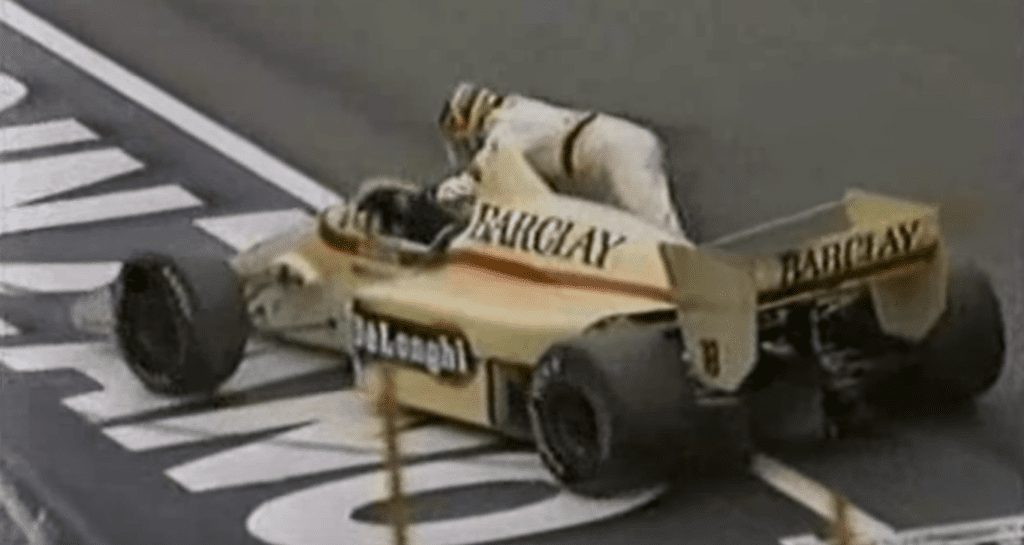 on this day in f1 everybody ran out of fuel wtf1 f1 everybody ran out of fuel