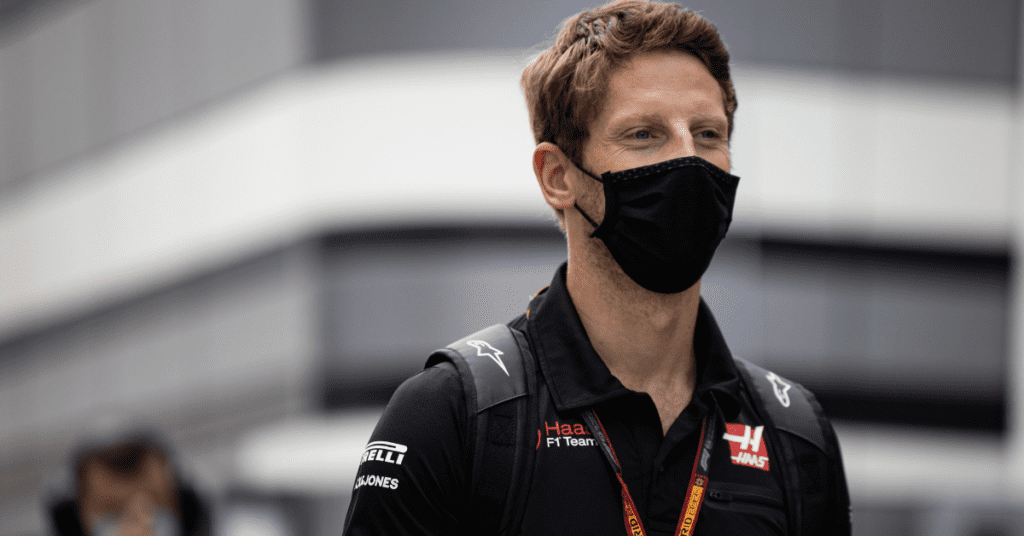 Romain Grosjean Thought He Broke His Finger