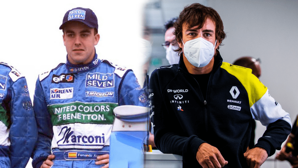 Fernando Alonso Then Vs Now