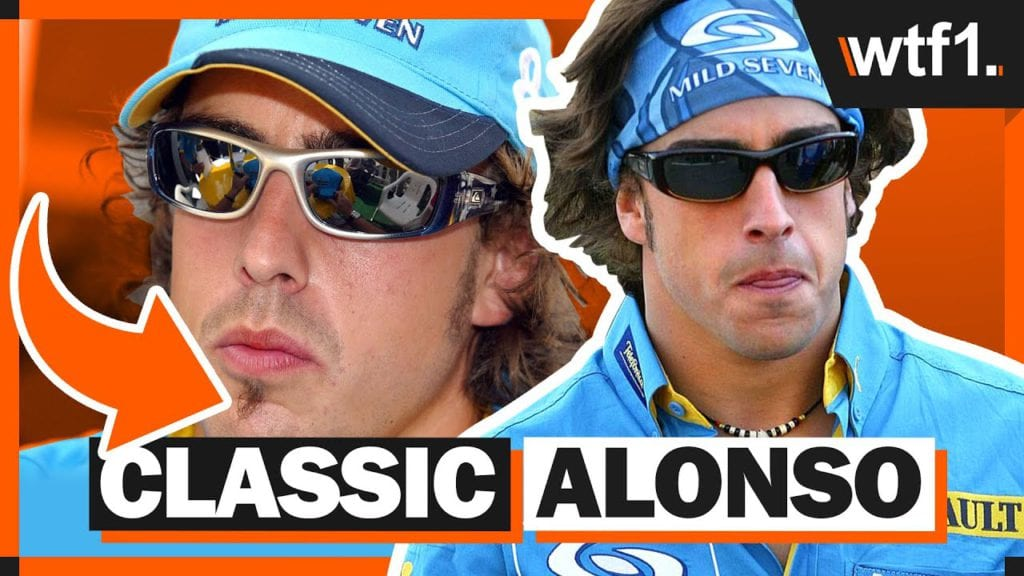 7 Moments That Show Just How Long Ago Alonso's First Time At Renault Was