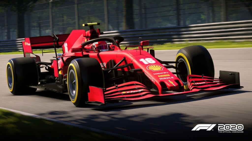 Ferrari Engined Cars Have Been Downgraded In The F1 2020 Game Wtf1