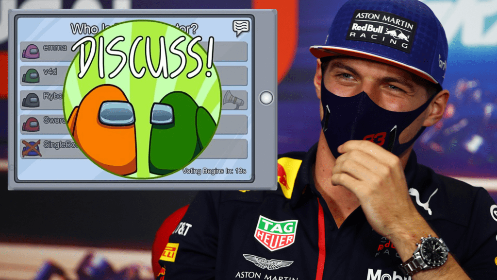 Max Verstappen Threatened Not To Race During A Game Of Among Us
