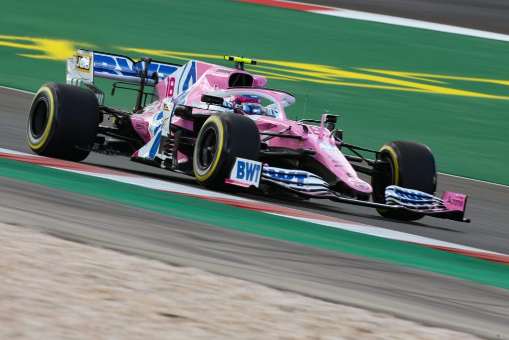 Lance Stroll of Racing Point Had Plenty of lap times deleted © XPB Images