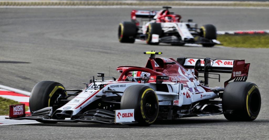 Alfa Romeo Has Retained Raikkonen And Giovinazzi For 2021 © XPB