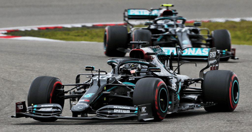 Mercedes Will Continue To Run Their Anti-Racism Black Livery In 2021 © XPB Images