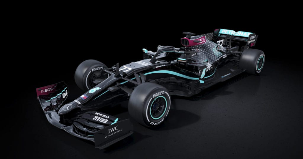 Mercedes Will Continue To Run Their Anti-Racism Black Livery In 2021 © Mercedes AMG F1
