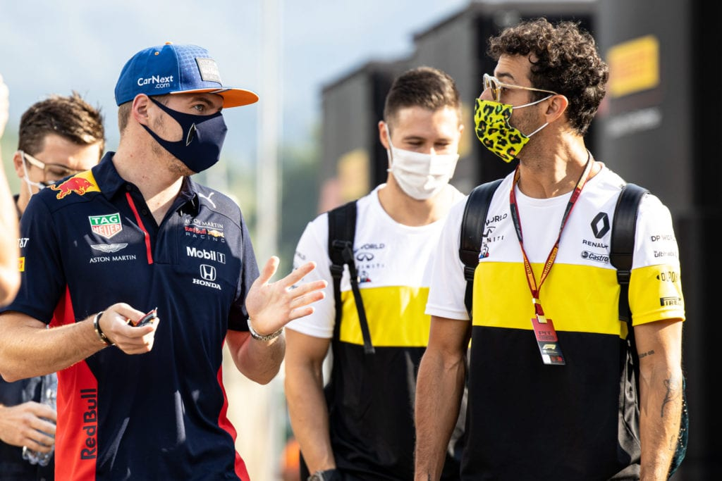 Max Verstappen and Daniel Ricciardo are the two highest paid drivers on the grid © XPB Images