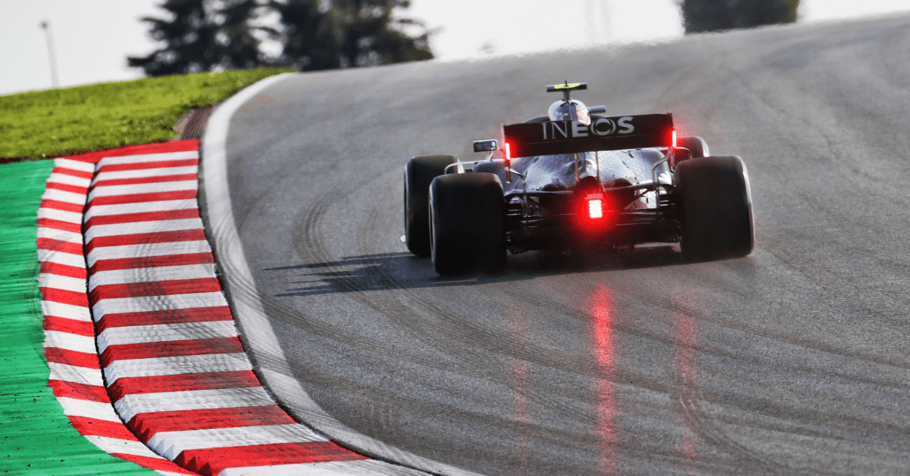 Valtteri Bottas testing out the track in FP1 at Istanbul © XPB Images