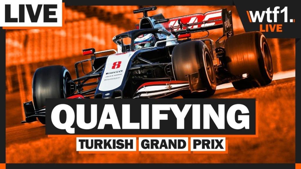 2020 F1 Turkish GP Qualifying Watchalong | WTF1 Live