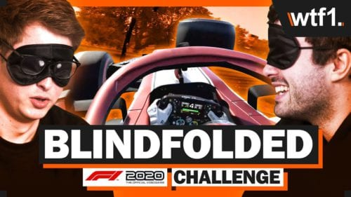 Can I Drive The F1 Game BLINDFOLDED?