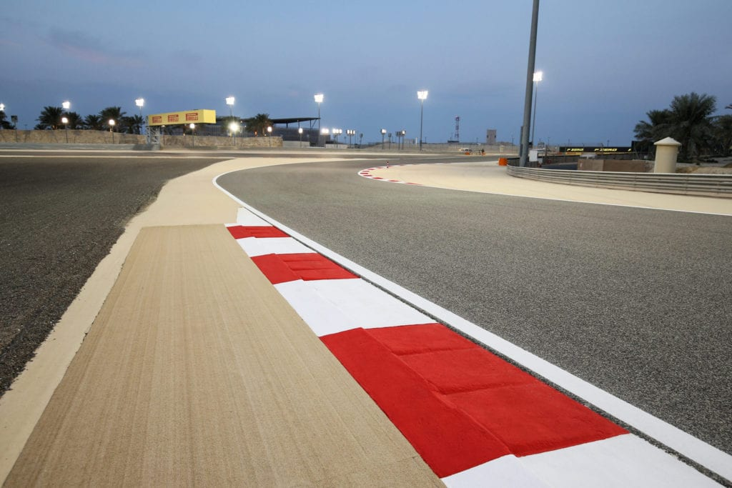 The Sakhir Grand Prix takes place on the Bahrain 'outer' circuit © XPB Images