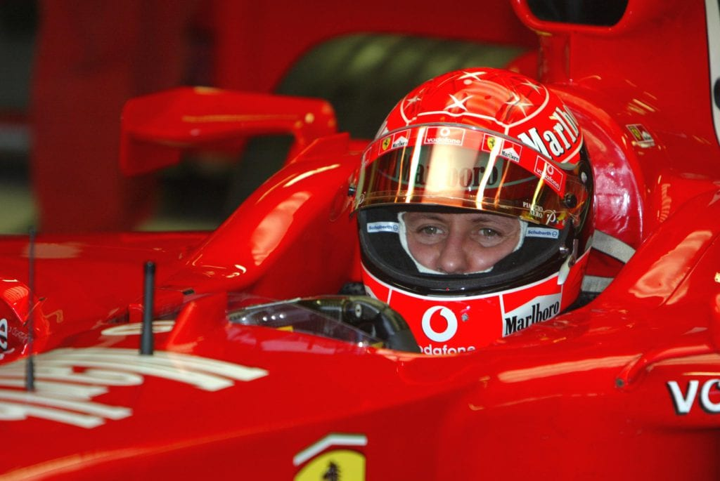 Schumacher donated $10 million to the 2004 Boxing Day Tsunami victims © XPB Images