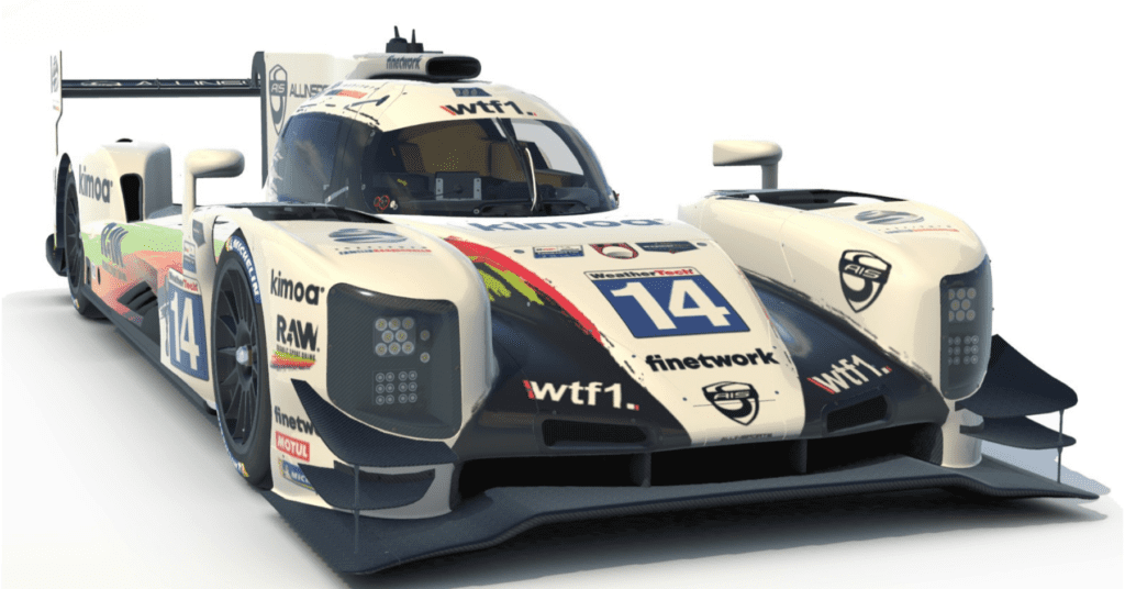 Alonso, Barrichello And Kanaan Will Race A WTF1 Car In The iRacing Daytona 24