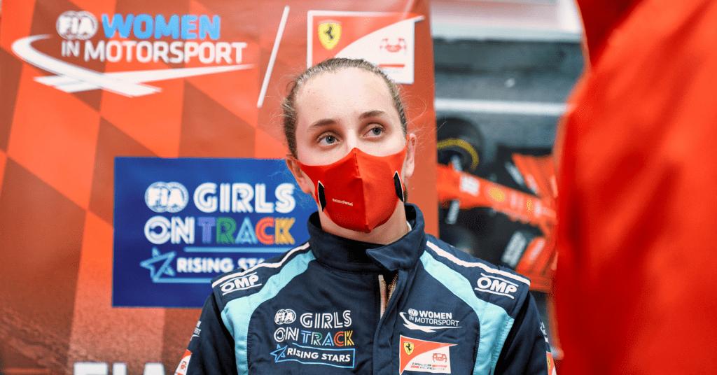 Ferrari Sign First Female Talent To Their Driver Academy © Ferrari