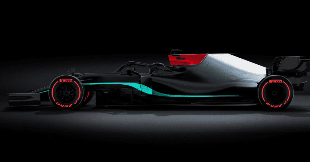 Mercedes Have Posted A Teaser Of How Their 2021 Livery Will Look