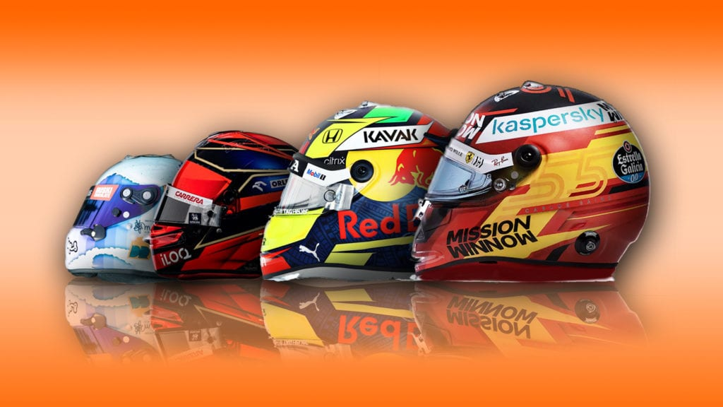These Are All The 2021 Driver Helmet Designs So Far