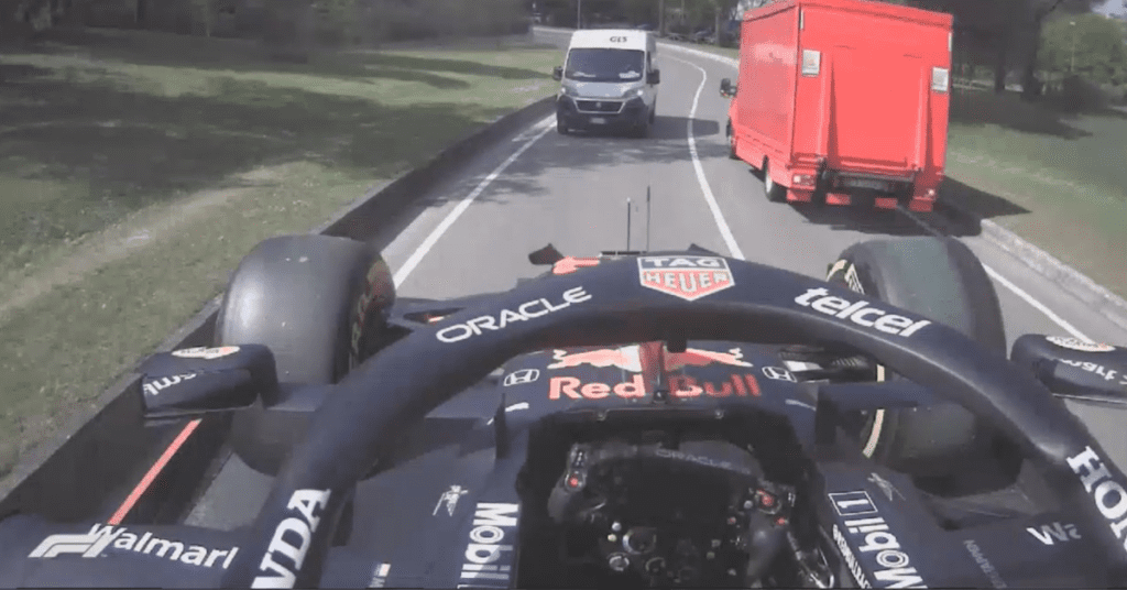 This Verstappen Onboard Back To The Pits Somehow Isn't Photoshopped